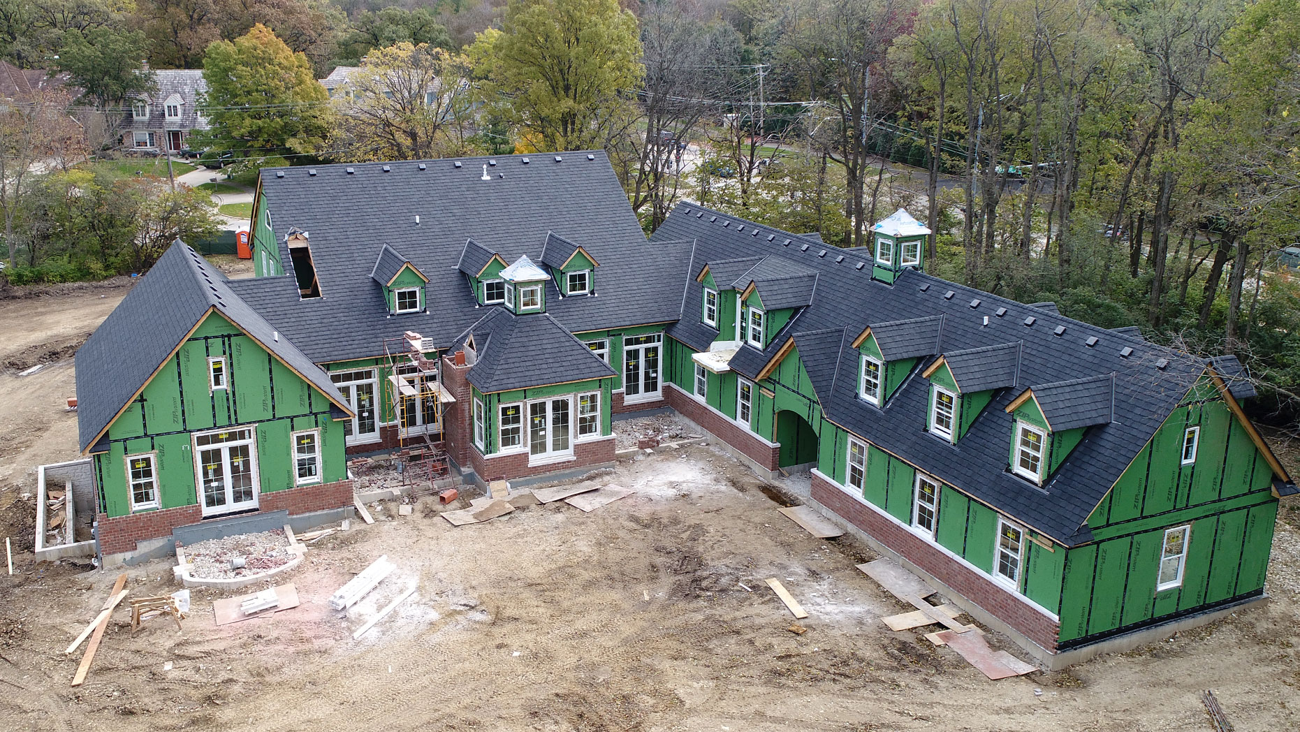 Residential Roofing of Sprawling Estate